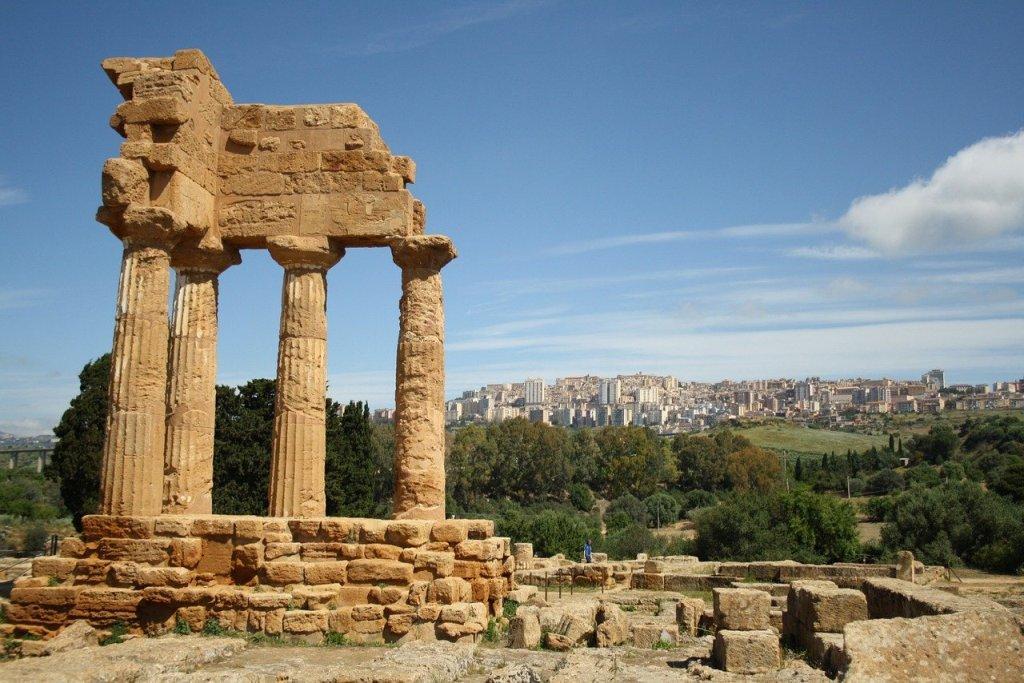 Visita della zona archeologica