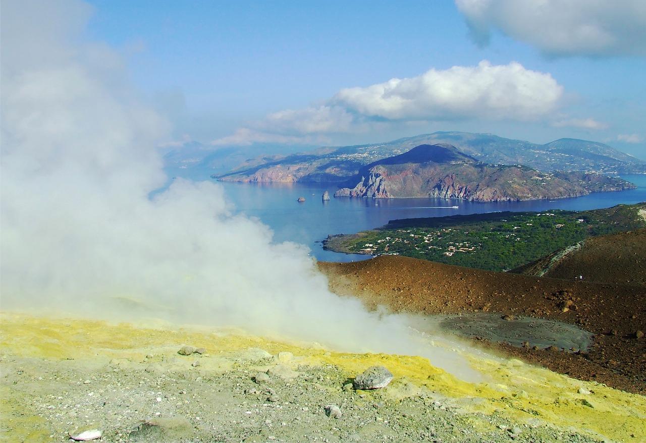 Partenza da Lipari e Scalata del Gran Cratere