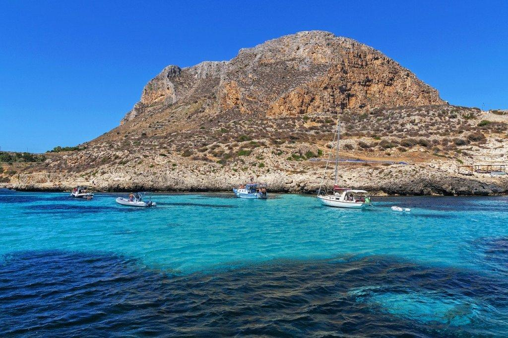 Tour in barca di Favignana