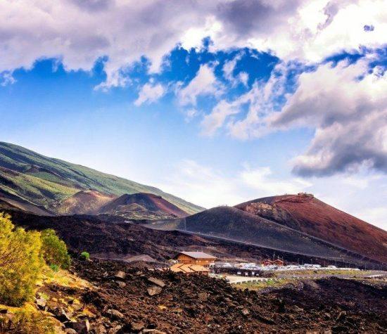 Vista Etna Vulcano