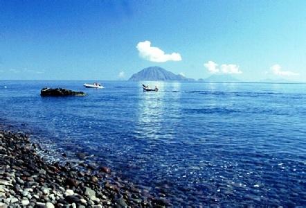 Navigazione da Alicudi a Lipari